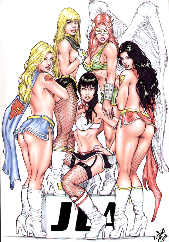 of justice league clubs ace Nudity in dragon ball z