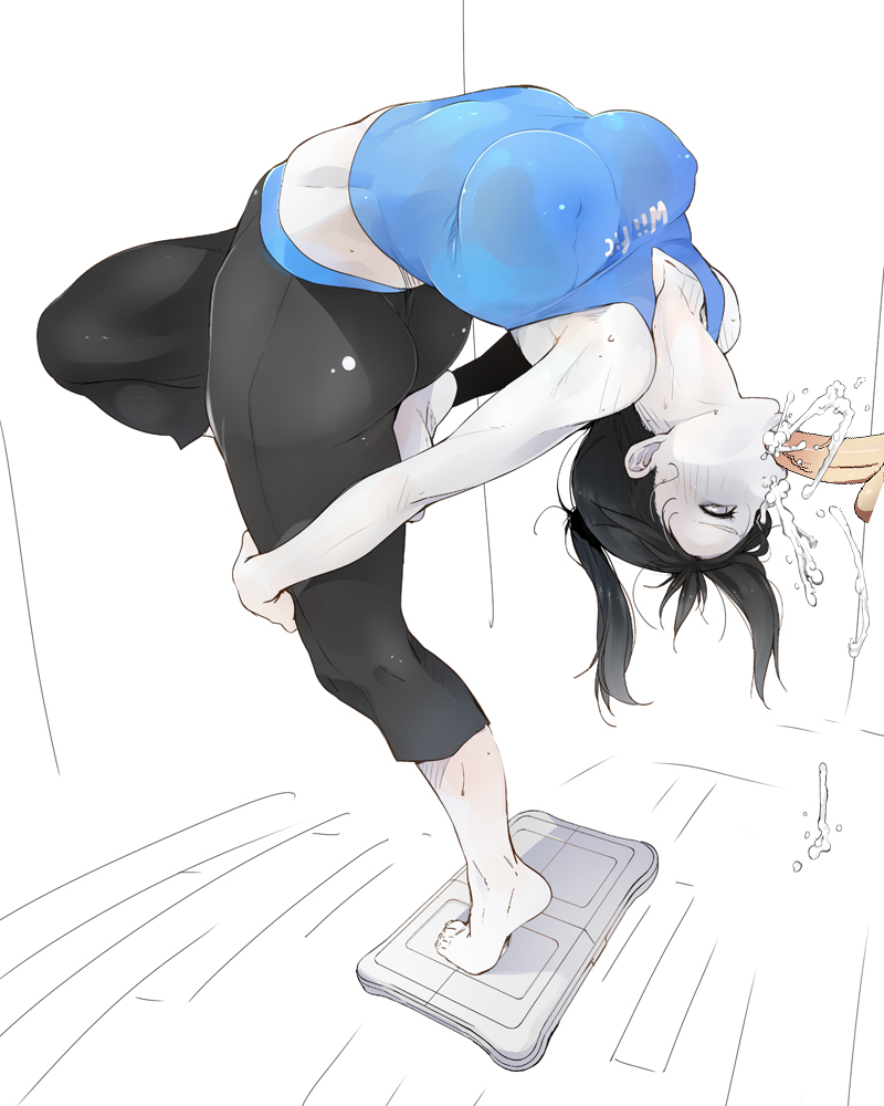 wii and fit trainer villager Under observation my first loves