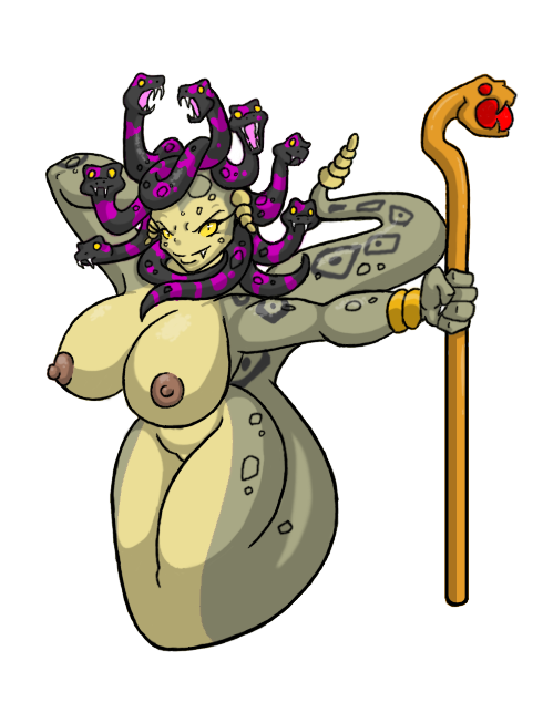 pubes medusa does for have snakes Bianca trials in tainted space
