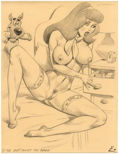 doo daphne scooby Beauty and the beast vore