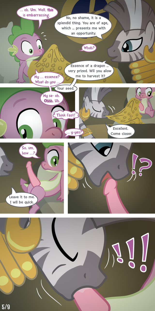 pony my spike little e621 Gay forced to swallow cum