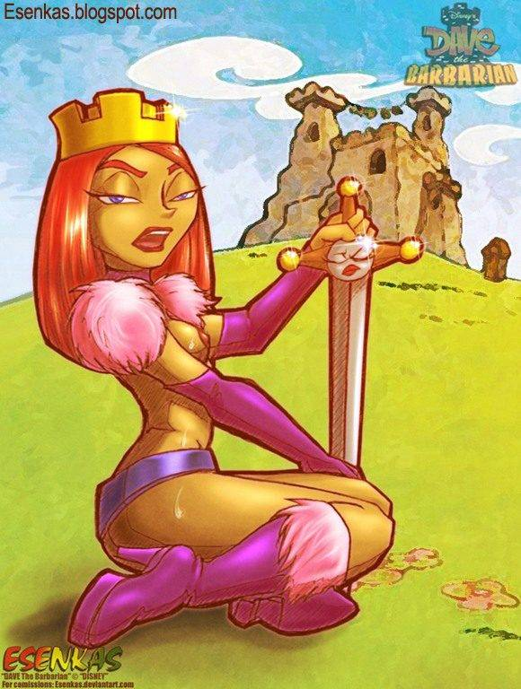 barbarian disney the dave channel Misty from black ops 2 porn