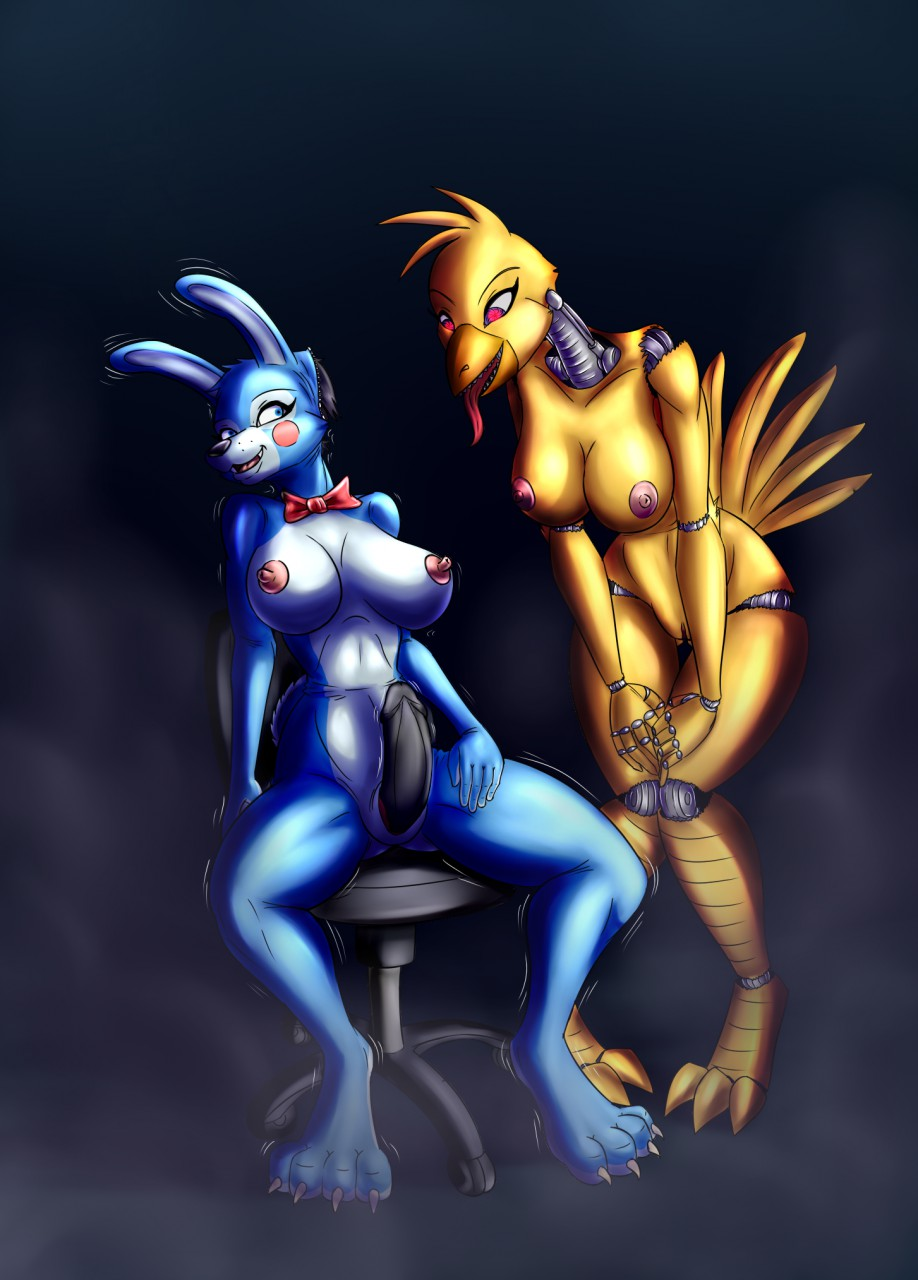 porn fnaf chica toy 2 Why is rick always drooling