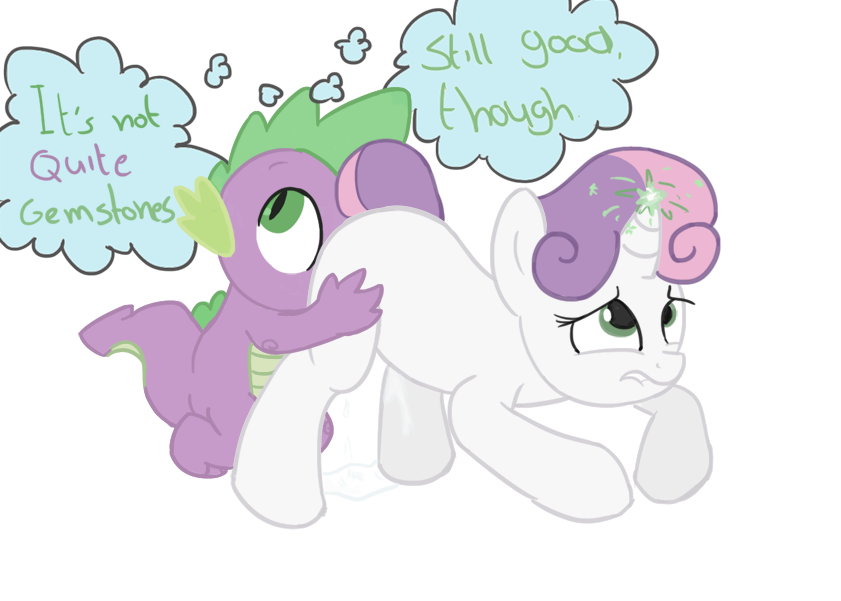 tlckle magic little is my pony friendship spike Ane_to_boin