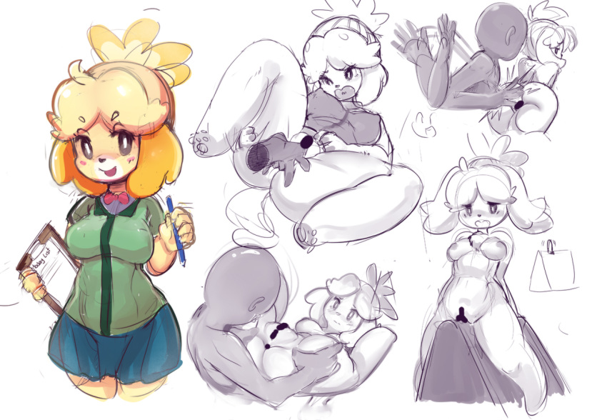 is how isabelle animal crossing from old Trials in tainted space codex