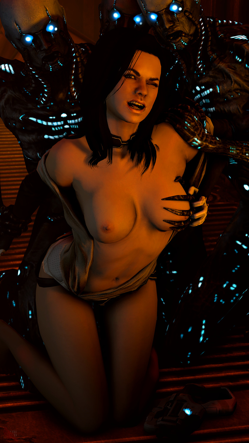 michel dr mass effect 3 Rave in the grave comic